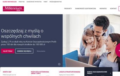 Bank Millennium z promocją konta oszczędnościowego Profi